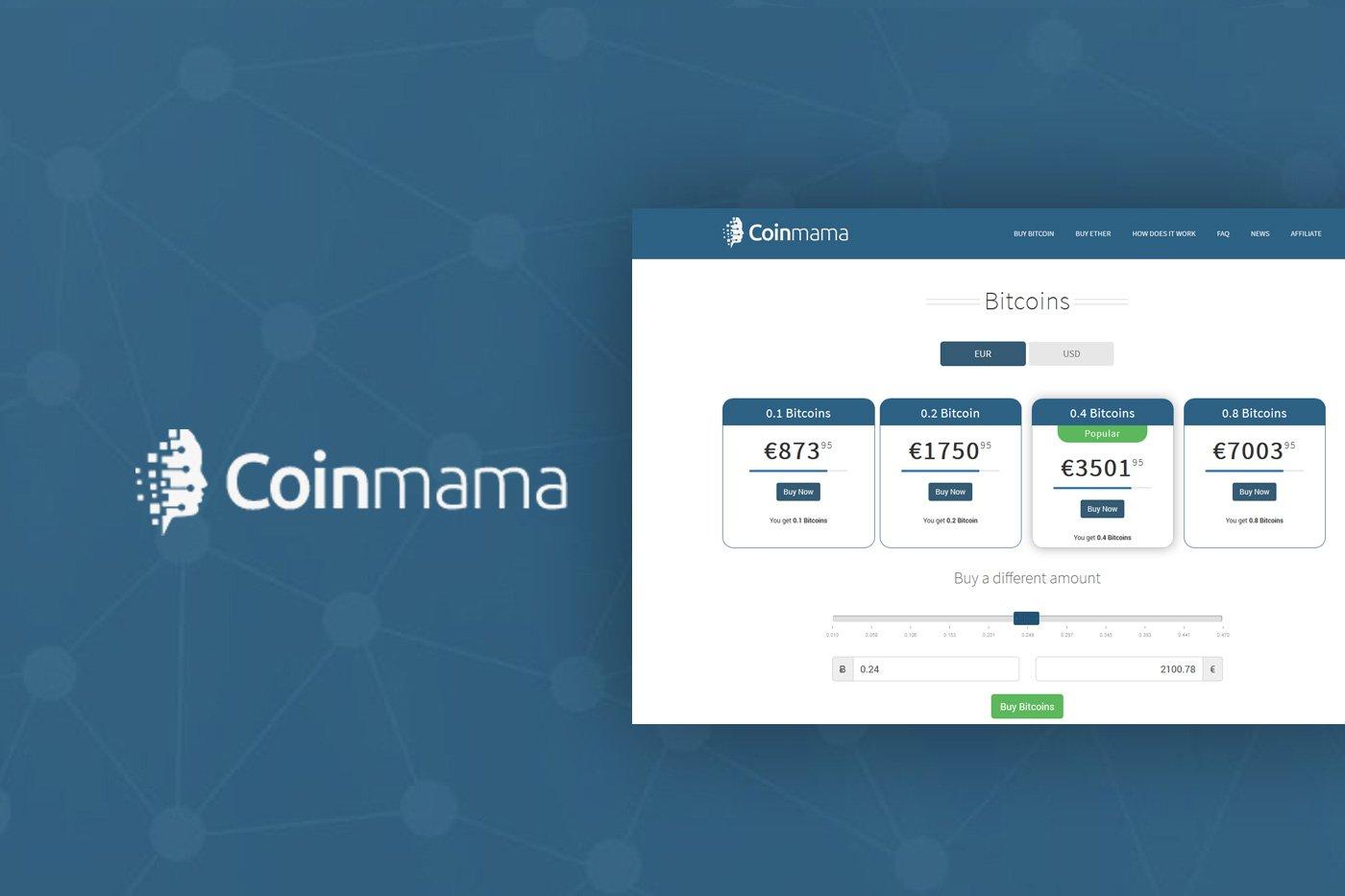 Coinmama recenze, Kde koupit kryptoměny, Kde koupit Ethereum, coinmama návod